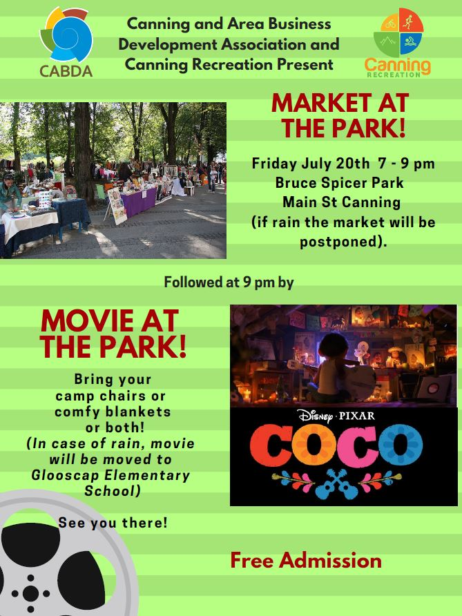CABDA Canning Village Movie in the Park 07-2018
