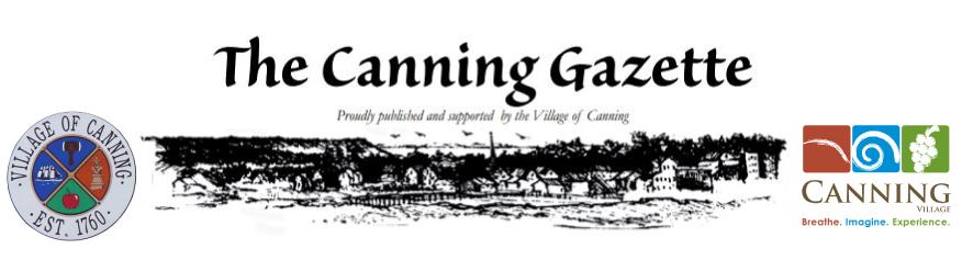 Canning Gazette Banner