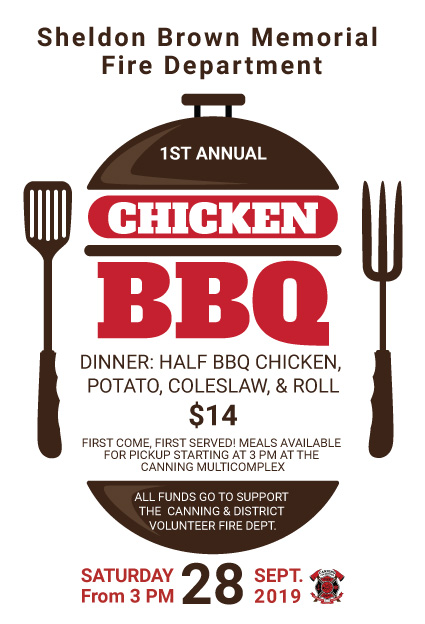 Canning Volunteer Fire Dept. Annual Chicken BBQ
